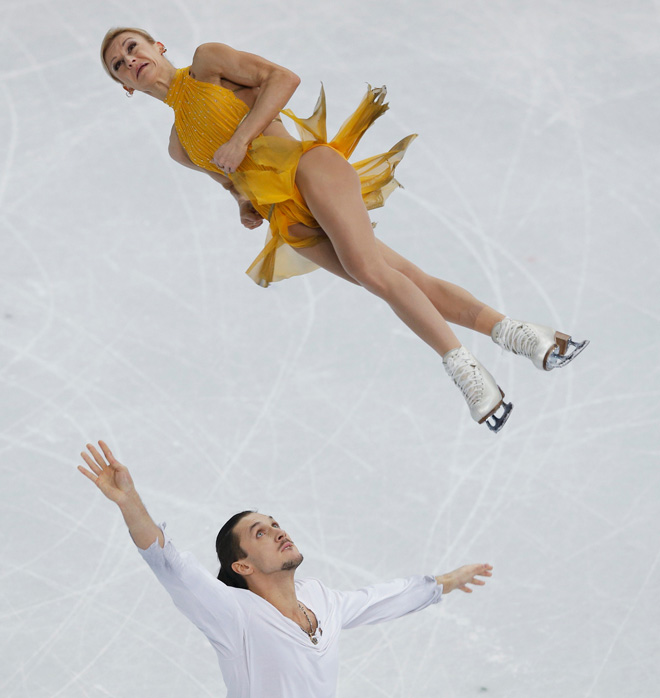Faces of Olympic Skating