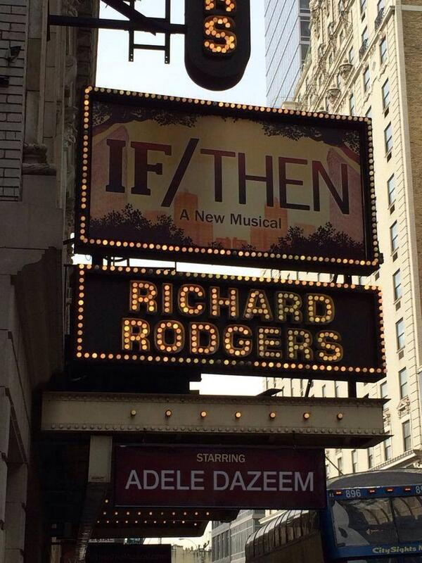 Adele Dazeem on Broadway